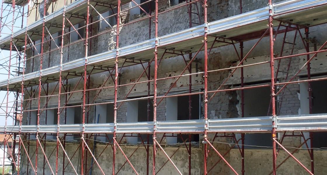 Miglioramento strutturale Scuola Media Bomarzo